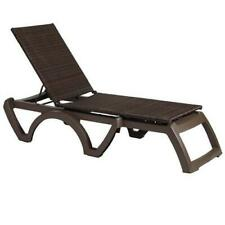 Java Wicker Bronze Chaise - Commercial Furniture - US645237
