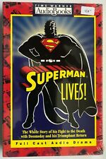 1993 ~ SUPERMAN LIVES! ~ AUDIO BOOK ~ TIME WARNER~  FULL CAST AUDIO DRAMA