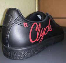 Puma Classic Clyde Signature Black Red, 366207 01, Men's Sz 10.5