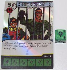 FOIL THE RIDDLER: GET A CLUE 112/124 Batman Dice Masters DC Rare