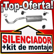 Silenciador trasero SEAT TOLEDO IV SKODA RAPID 1.2 TSi desde 2012 Escape BFP