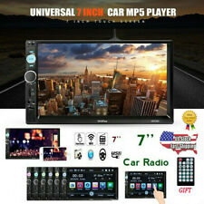 """7"""" 2DIN Car MP5 Player Bluetooth Touch Screen Stereo Radio USB AUX IN USB TF FM"""