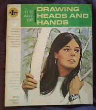 Vintage The Art Of Drawing Heads And Hands Paperback by Walter Brooks 1966