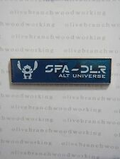 DLR Disneyland Sci-Fi Academy Event STITCH - ALT UNIVERSE Merit Badge Disney Pin