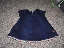 BURBERRY CHILDREN 12M 12 MONTHS DENIM LINED DRESS