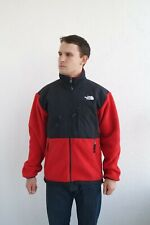 The North Face Men's Denali Polartec Fleece Jacket TNF Black/Red SIze M