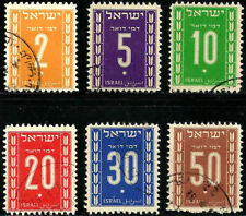 ISRAEL STAMPS 1949 SECOND POSTAGE DUE. Used.