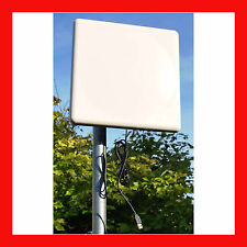 SuperLinxs 50dBm High Power WiFi USB Panel Antenna 802.11N Indoor & Outdoor