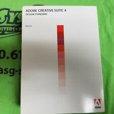 Adobe Creative Suite CS4 Design Standard UPGRADE For Mac w/ serial number