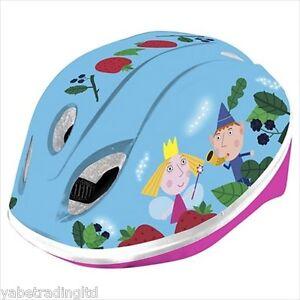 CHILDRENS BEN + HOLLY SAFETY HELMET 48-52 CM HEAD PROTECTION LITTLE KINGDOM  NEW