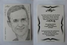 2012-13 Leaf Best of Hockey Steve Yzerman 1/1 sketch 1 of 1 RARE Red Wings