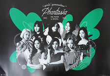 SNSD - Girls' Generation [PHANTASIA] in Seoul DVD OFFICIAL POSTER with Tube Case