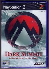 Dark Summit Sony PlayStation 2 Ps2 3 Snow Boarding Game