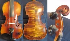 Beautiful Carved SONG Brand maestro inlay rosewood 4/4 violin #11710