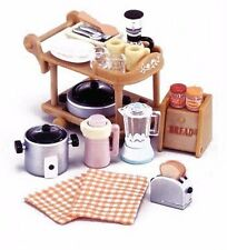 Epoch Sylvanian Families Furniture Kitchen Home Electric Set KA-407 From Japan