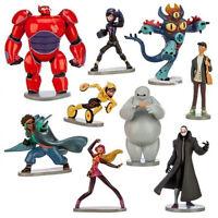 9pcs Cute Big Hero 6 Baymax Movie Character Action Figures Kids Children Toy Set