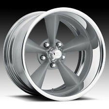 "18"" US MAGS18x12 Standard 2 piece SINGLE Wheel FOOSE Style Silver  RIM"