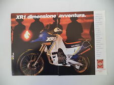 advertising Pubblicità 1988 MOTO GILERA XR 1 XR1 125