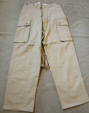 WWII US AIRBORNE PARATROOPER STANDARD UNREINFORCED M42 JUMP TROUSERS-XSMALL