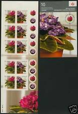 Canada 2378a Booklet MNH African Violets