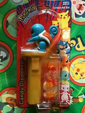Pokemon Squirtle Candy Pez figure Catcher Bandai Candy Box Toy New in Pack