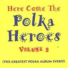 Various Artists : Here Come the Polka Heroes 3 CD