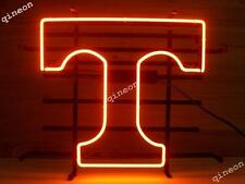Rare NCAA TENNESSEE VOLUNTEERS REAL NEON SIGN BEER BAR LIGHT Fast Free Shipping
