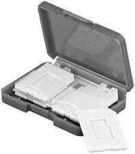 Boîte de rangement pour 4 cartes mémoire SD / Micro SD Goobay - Goobay