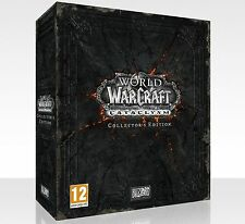 World of Warcraft Cataclysm Collector's Edition English edition new and sealed