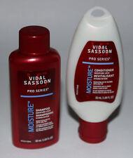 Set of 2 Travel Size Vidal Sassoon Shampoo & Conditioner - Free US Shipping