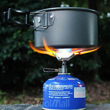 Outdoor Camping Hiking Aluminum Alloy Stove Gas Furnace Burner Picnic Cookout