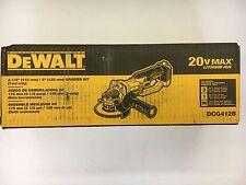"""DeWalt #DCG412B: 20v MAX 4-1/2"""" Grinder BARE TOOL"""