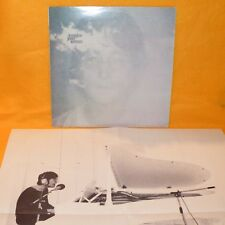 "APPLE RECORDS JOHN LENNON - IMAGINE STEREO 12"" LP ALBUM VINYL RECORD + POSTER"