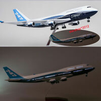 1/150 Aircraft Boeing 747-400 B747 LED Light Airlines Airplane Plane Model 47cm