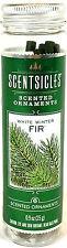6 Scentsicles Scented Ornaments Sticks White Winter FIR 0.9 oz bottle