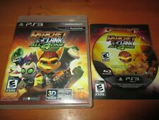 Ratchet & Clank: All 4 One (Sony PlayStation 3, 2011) EX+ Shape, COMPLETE!