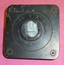 Weinschel Variable Attenuator 6 - 66 dB