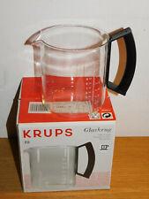 recipient de CAFETIERE KRUPS T8 468 glaskanne glass jug GLASKRUG verre VERSEUSE