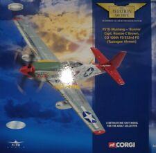 Corgi Aviation Archive 1/72 P-51D Mustang Capt. Roscoe C Brown 100th FS/332nd FG