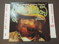 WILLIE NELSON THE LONGHORN JAMBOREE PRESENTS W/ DAVID ALLAN COE LP PLP-24