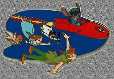 Stitch with Peter Pan & Darling Kids Pin - DISNEY AUCTIONS Pin LE 500