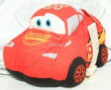 "CARS LIGHTNING MCQUEEN - SMALL PLUSH TOY FIGURE 5"" DISNEY PIXAR USED 2009"