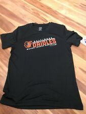 MLB Majestic Baltimore Orioles Boy's Athletic Tee Shirt Size Large 14 16