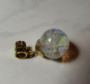 714 Round 14mm Floating Opal Pendent Only
