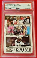 Drew Brees Ingram Cooks 2017 Score Drive Time PSA 9 MT Saints!