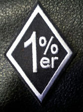 ONE PERCENTER 1%ER ANARCHY OUTLAW 3 INCH IRON ON MC BIKER PATCH