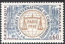 Francia 1967 escalas/Cuentas/barcos/puerto/grúas/business/Comercio 1 V (n23483)