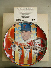 VINTAGE 1990 SPORTS IMPRESSIONS RYAN'S EXPRESS NOLAN RYAN MLB COLLECTOR PLATE