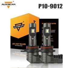 Auxbeam 9012 HIR2 60W 7600LM LED Headlight Kit High Low Beam Bulbs VS HID 6000K