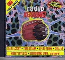 FEAR FACTORY / TURA SATANA / LIFE OF AGONY / SHELTER + Radio Kerrang KERRANG CD